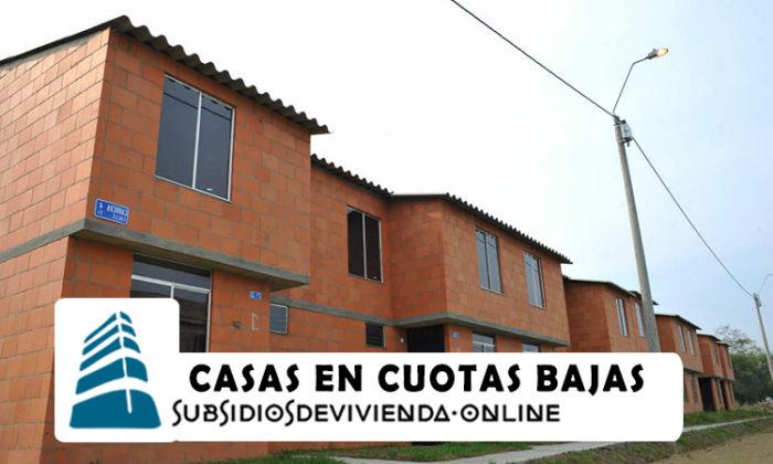 Casas con cuotas bajas-Mi Casa Ya