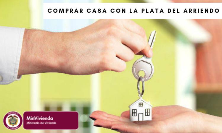 Comprar casa con la plata del arriendo